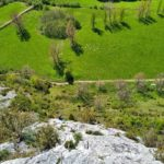 GC - escalade en ariege - falaise de genat - grande voie (2)