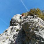 GC - escalade en ariege - falaise de genat - grande voie (3)