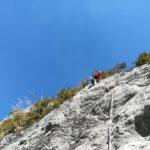 GC - escalade en ariege - falaise de genat - grande voie (4)