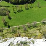 GC - escalade en ariege - falaise de genat - grande voie (5)