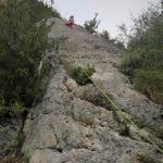 GC - escalade en ariege - falaise de genat - secteur corvus (3)