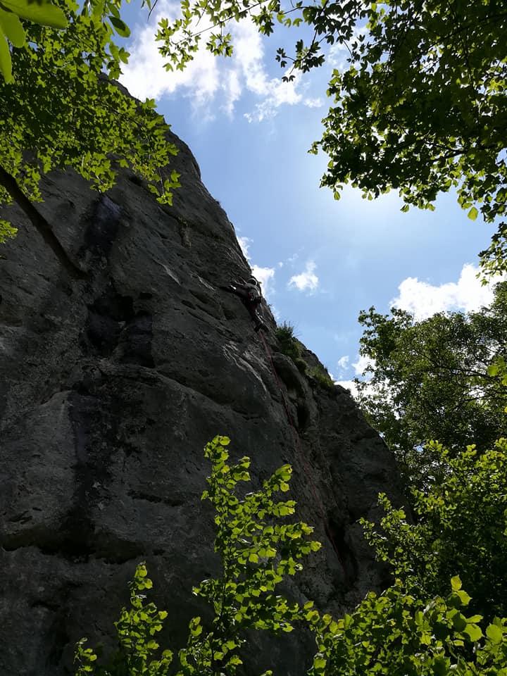 GC- falaise de Péreille Ariège - mai 2018 (4)