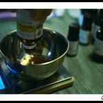 Peser les huiles végétales