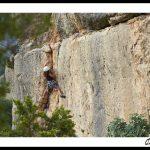 La falaise de Coll de Nargo – Alt Urgell, Lleida – Espagne