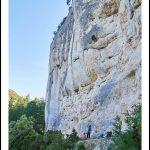 La falaise du Groseau – Malaucène, Ventoux