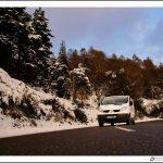 Notre van chez Gratteron et Chaussons