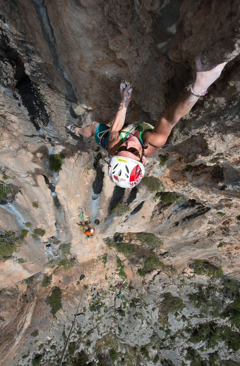 GC - interview Caroline Ciavaldini james pearson - by Riky Felderer The north Face - sardinia multipitch