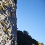 Grimpeur sur le secteur Castell s'Espasa Dret