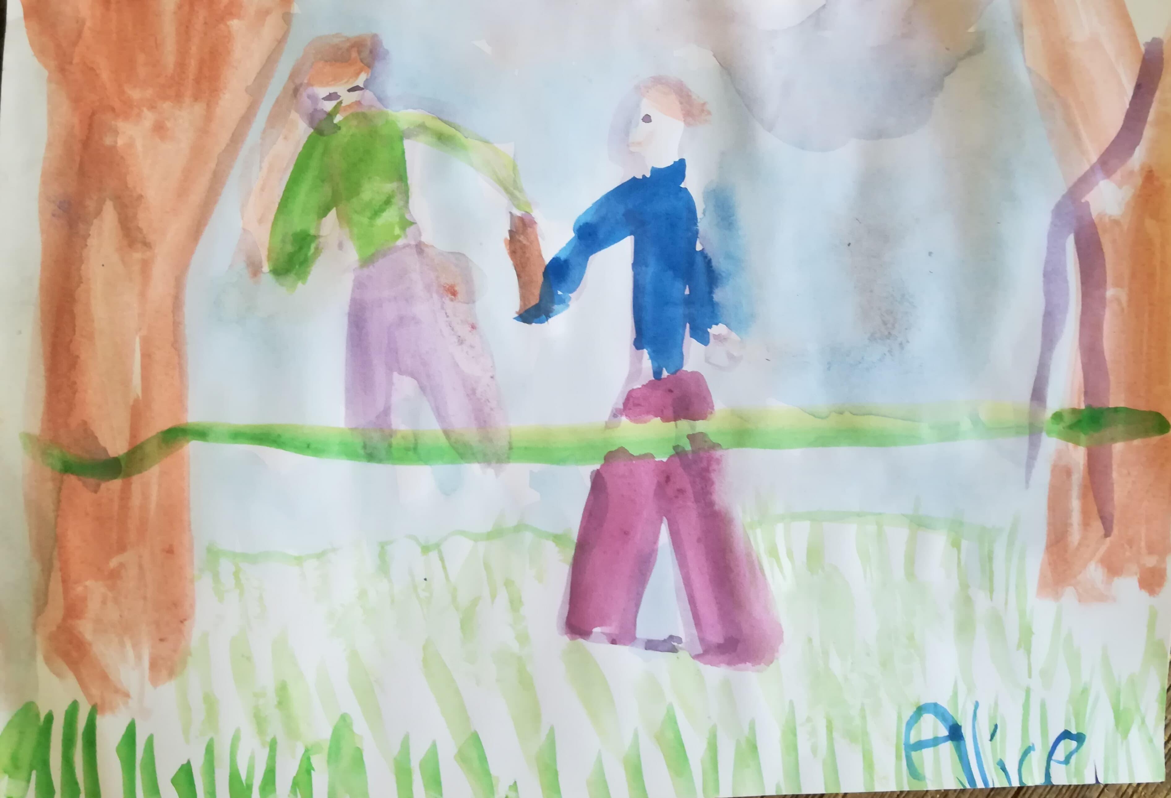 GC - petit bonheur - dessins d'enfants Alice 2