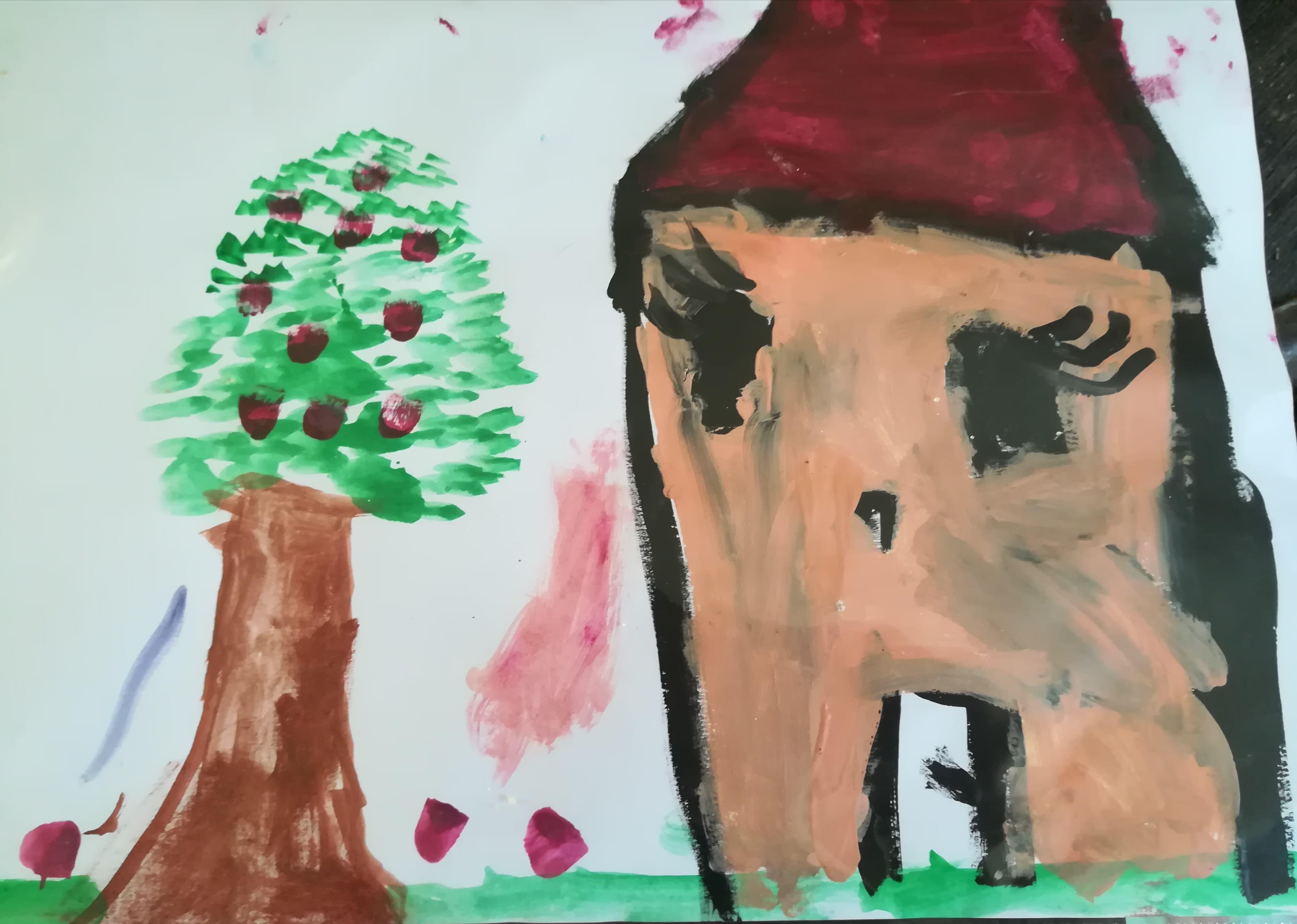 GC - petit bonheur - dessins d'enfants flore