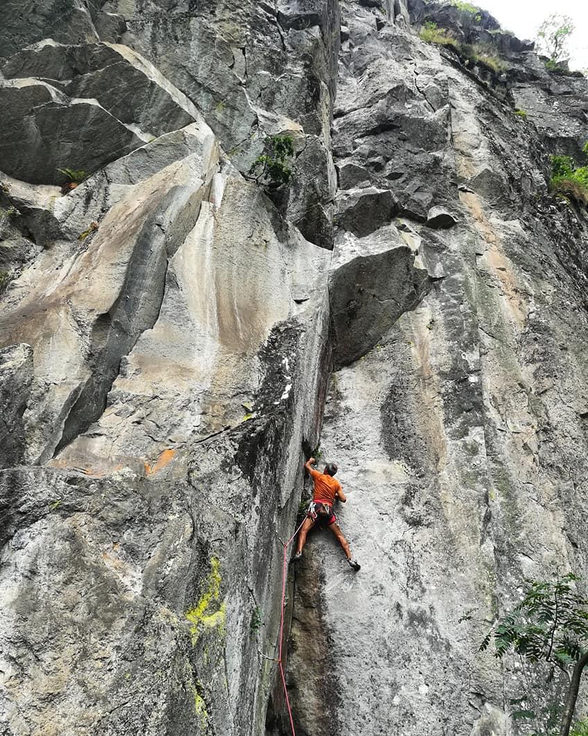 GC - escalade en ariege - aston THT - Juillet 2018