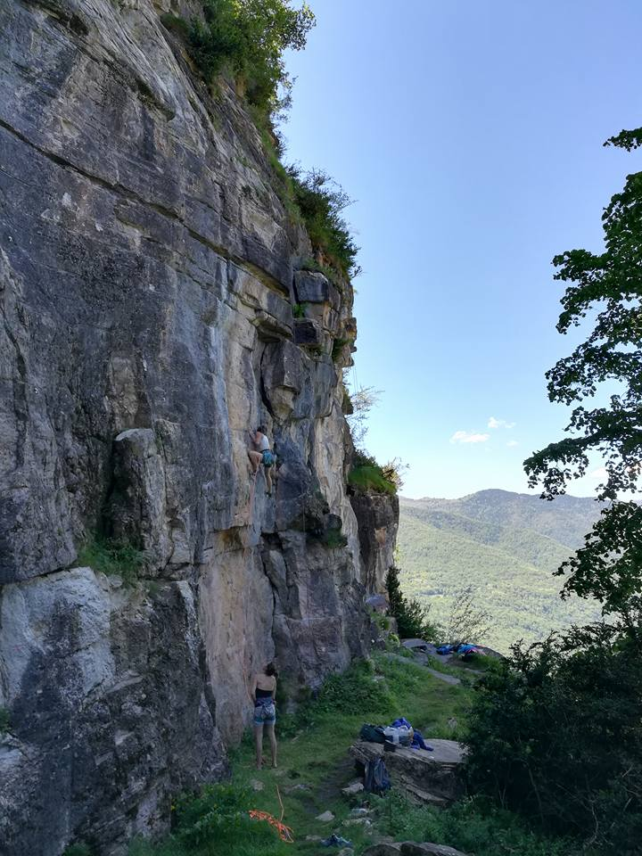 GC - escalade en ariege - lordat face nord -