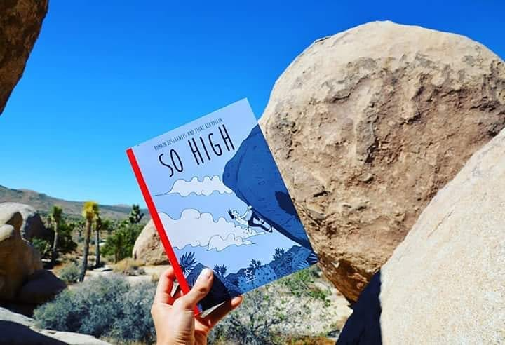 GC - chronique livre - so high - romain desgranges flore baudelin - joshua tree