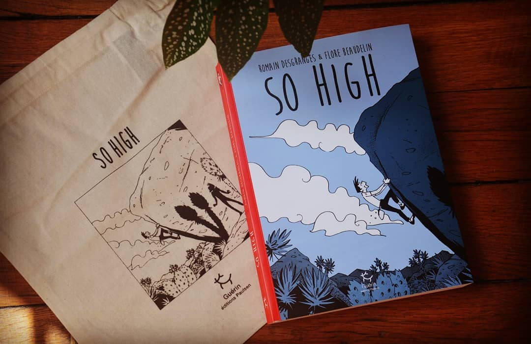GC - chronique livre - so high - romain desgranges flore baudelin - livre