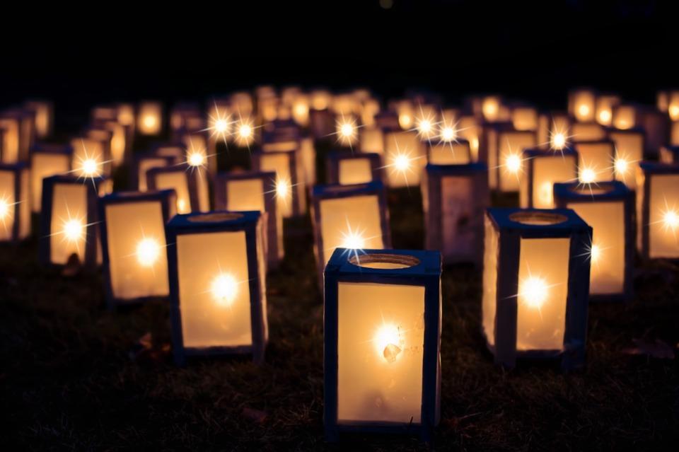 GC - lumières noel fetes bougies