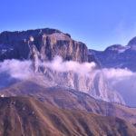 Les falaises des Dolomites – Italie