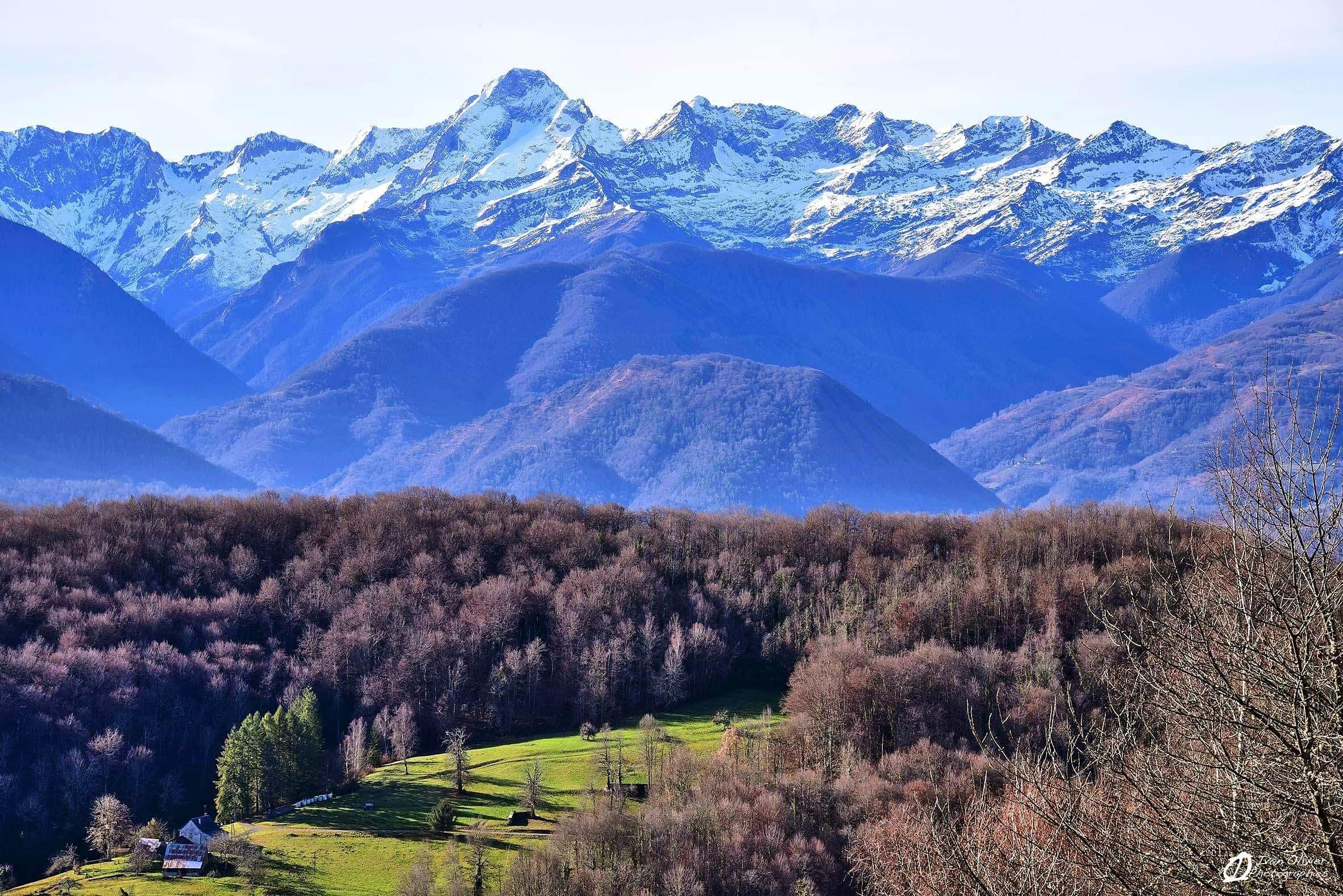 GC - mont valier depuis l'altiport de joubac - ariege - decembre 2018