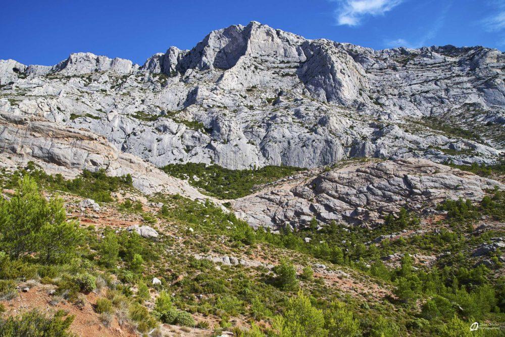 Une partie du massif de la Sainte-Victoire