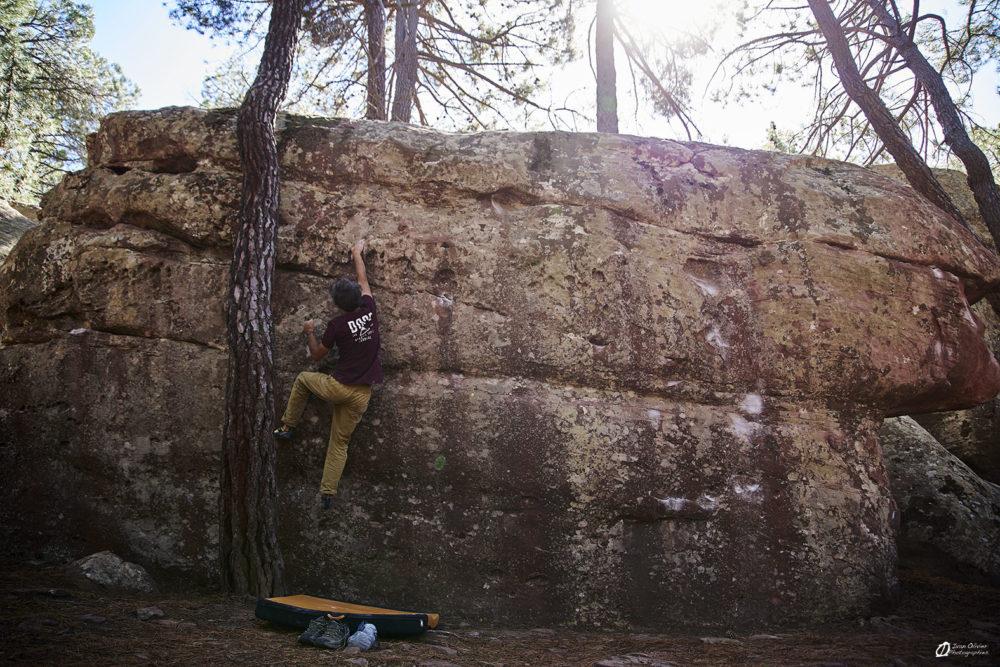 Ivan dans Tobogan de los enanos, 7a - secteur Arrastradero
