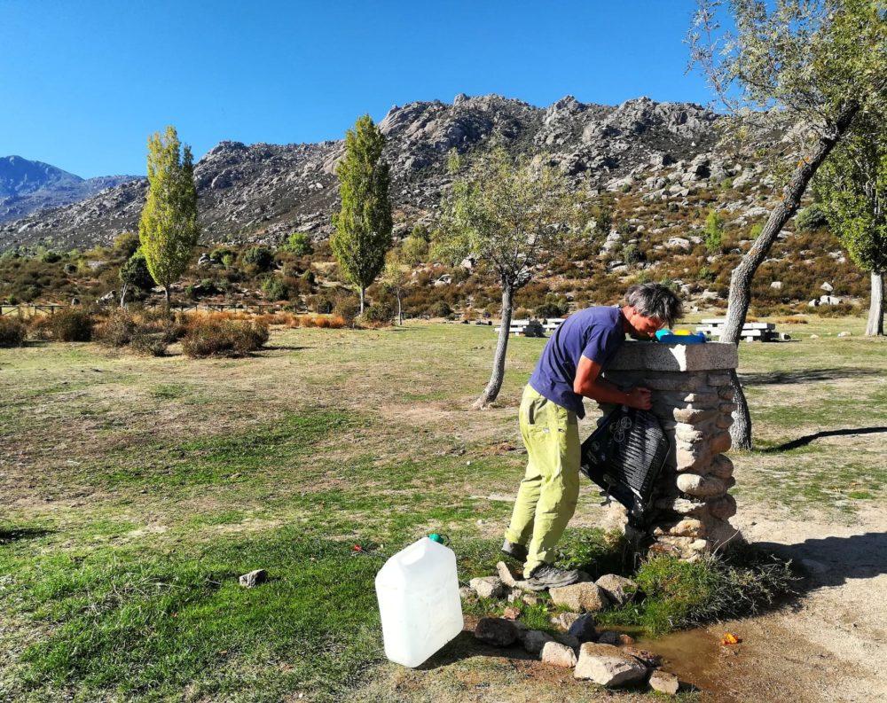 point d'eau à El Boalo