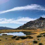 Vue d'ensemble du massif de la Peñalara et ses lacs