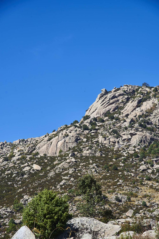 La falaise de Risco de la Encina et les 2 secteurs