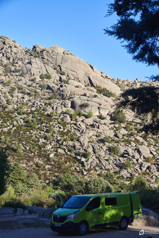 Vue sur la Tortuga depuis le camion