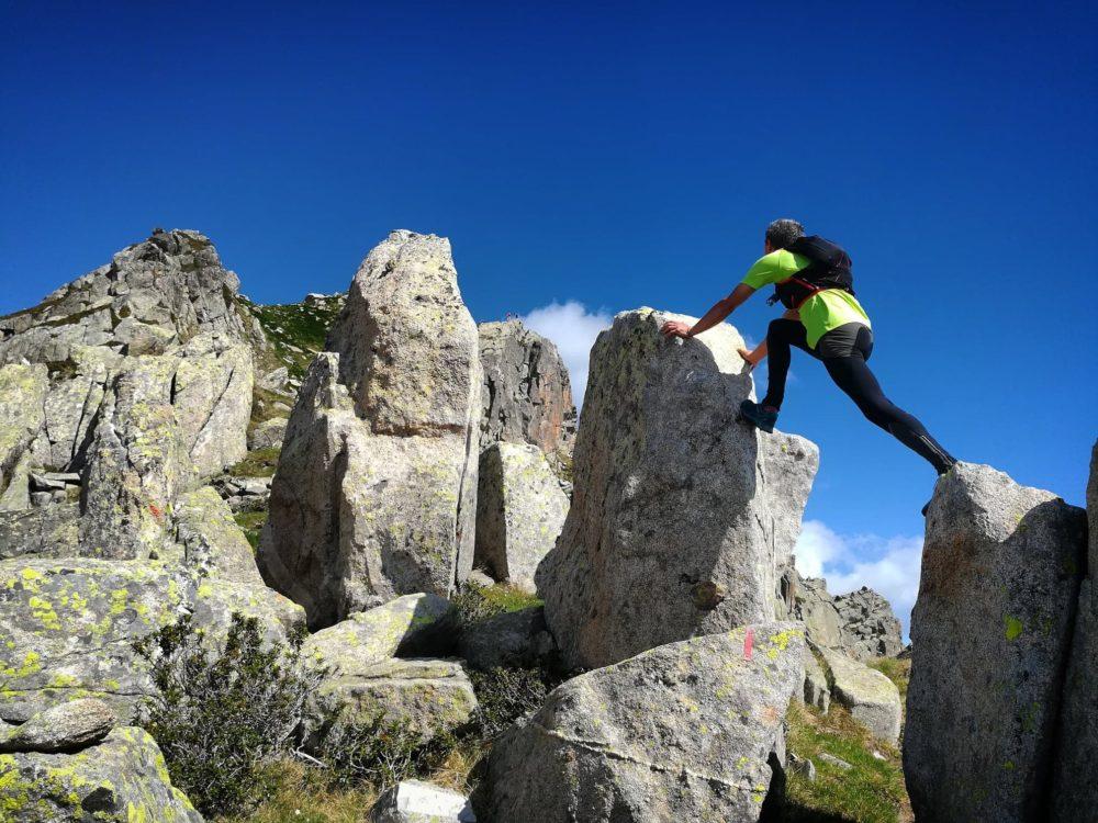 Ligne de Crête - Juste pour s'amuser avant d'arriver au sommet.