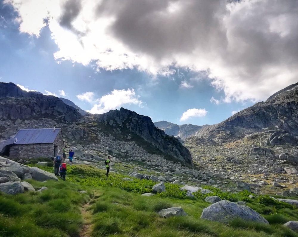 Cabane de Turguilla! Croisement entre l'étang de Réglisse et la montée vers le pic de Séron