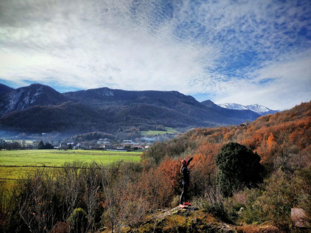17/12/20 - Surba: Face sud du Sédour, Vue vers le Pic de Pioulou