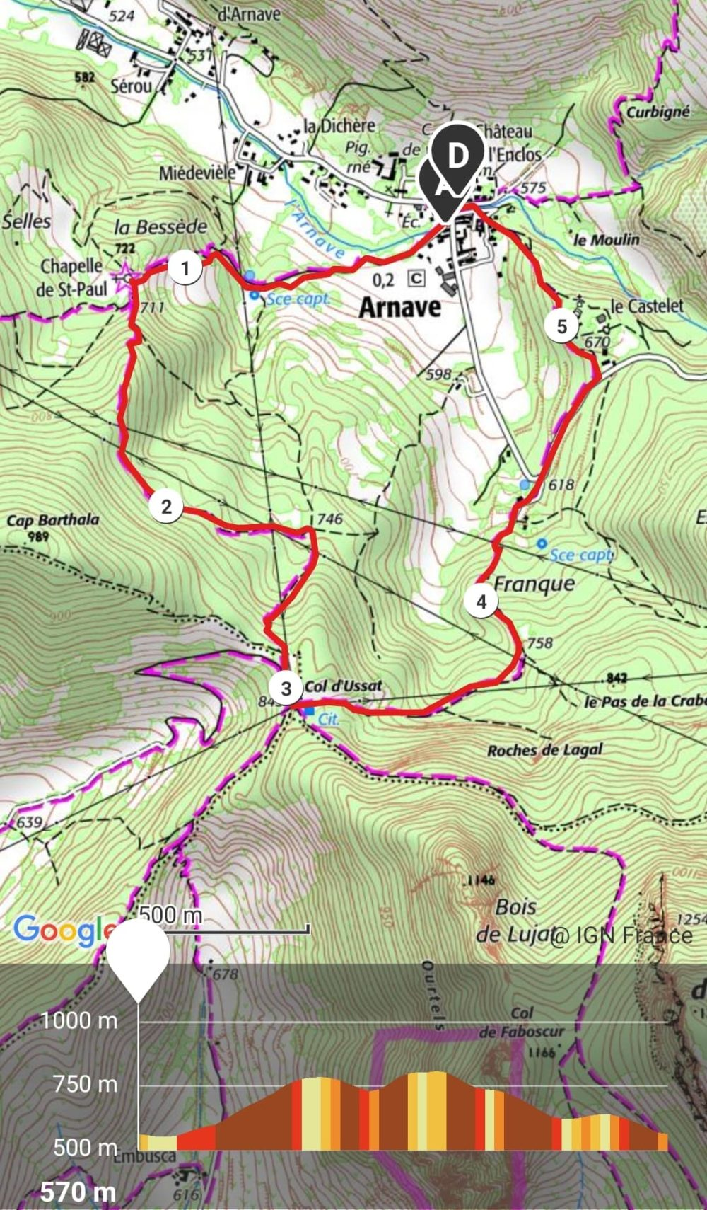 GC - trail court - chapelle arnave col ussat hiver ariege (1)