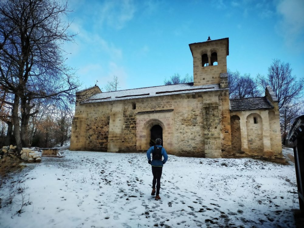 30/12/20 - Arrivée sur la chapelle Saint Paul d'Arnave