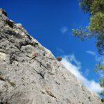 La falaise d'Orgon – Secteur Beauregard – Massif des Alpilles, Bouches du Rhône