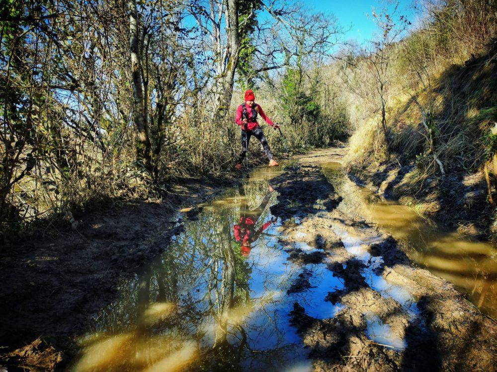 """18/01/21 - """"On dirait que ça te gêne de marcher dans la boue"""""""