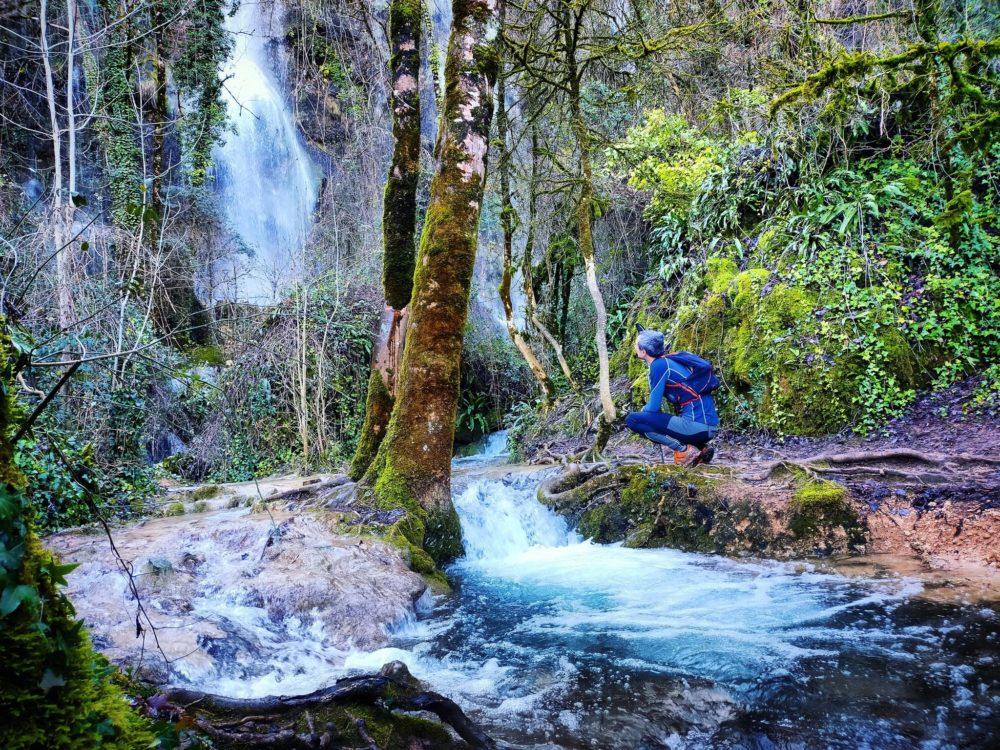 18/01/21 - L'eau est toujours aussi belle à Roquefort les Cascades