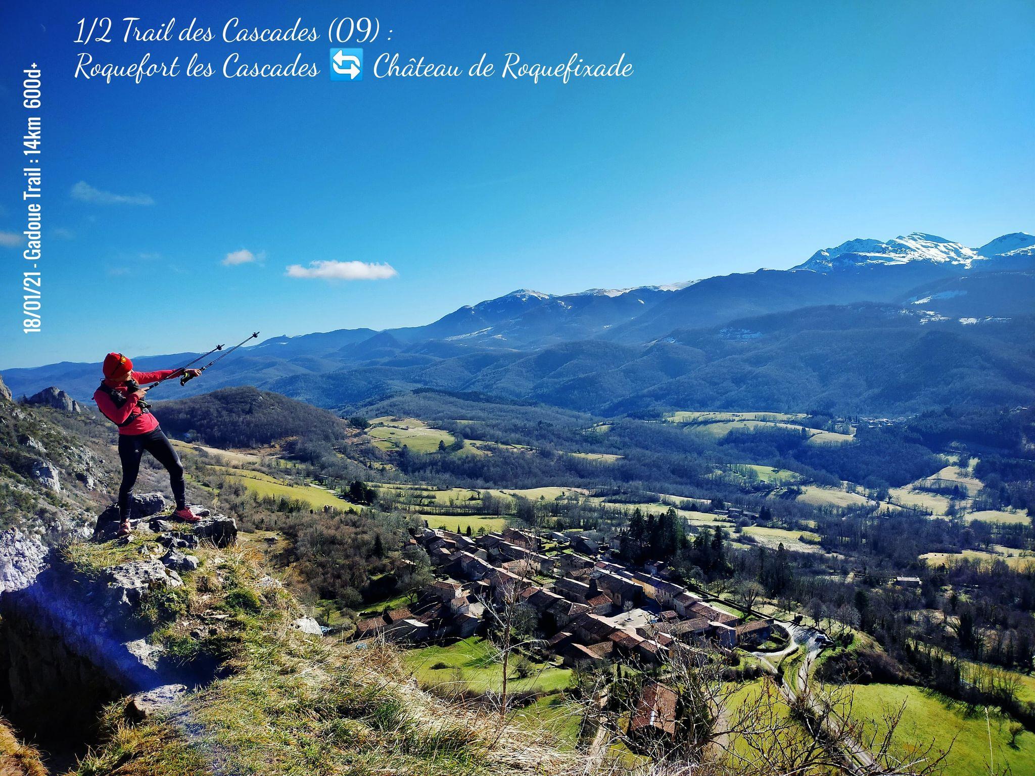 GC - trail 14km - trail des cascades ariege - 01 2021 - roquefort roquefixade (3)