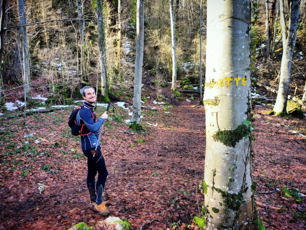18/01/21 - Ne loupez pas l'indication sur l'arbre pour trouver la grotte!