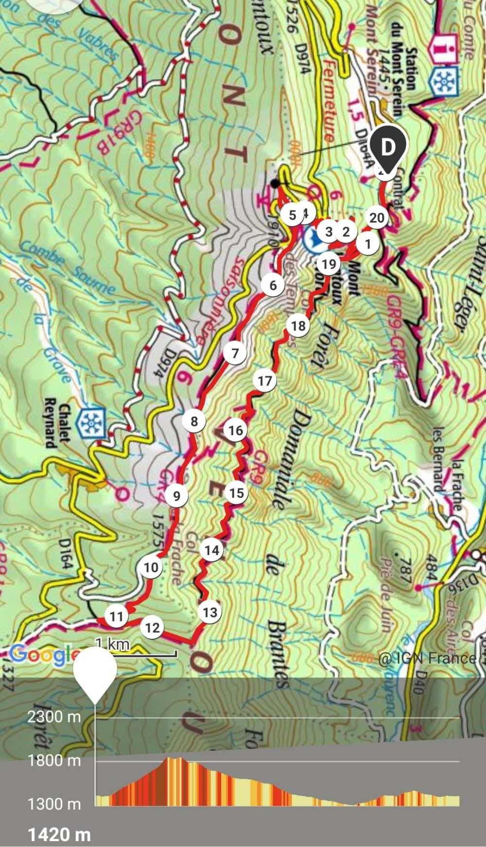GC - trail 21km - semi mont ventoux mont serein - vaucluse - 09-2020 2