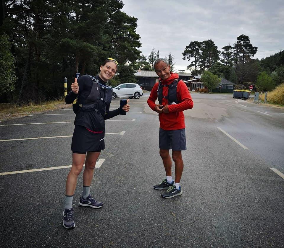 21/09/20 - Au départ du Mont Serein avec mon JP, mon binôme du jour - 500m sous le sommet
