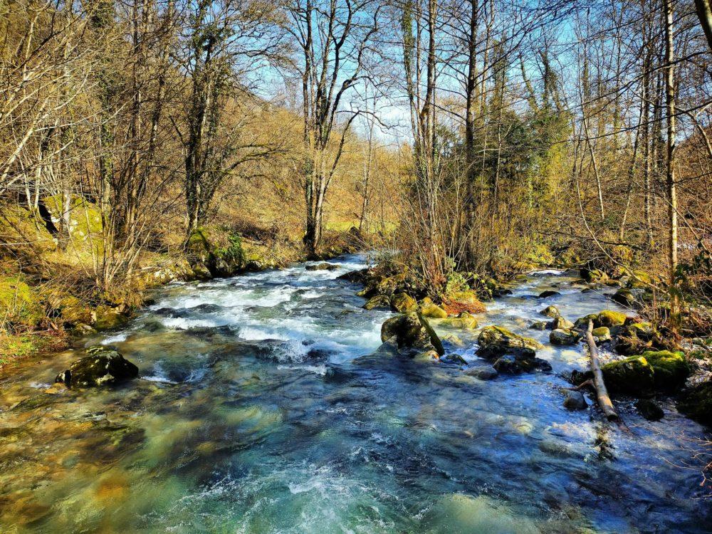 14/02/21 - Ruisseau de la Courbière au niveau de la Centrale Electrique