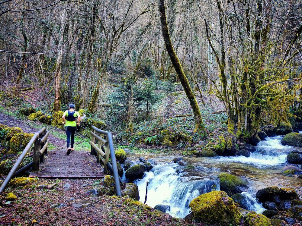 14/07/21 - Ruisseau de Saillens, avant d'attaquer une montée bien à l'ombre et plutôt fraîche en hiver