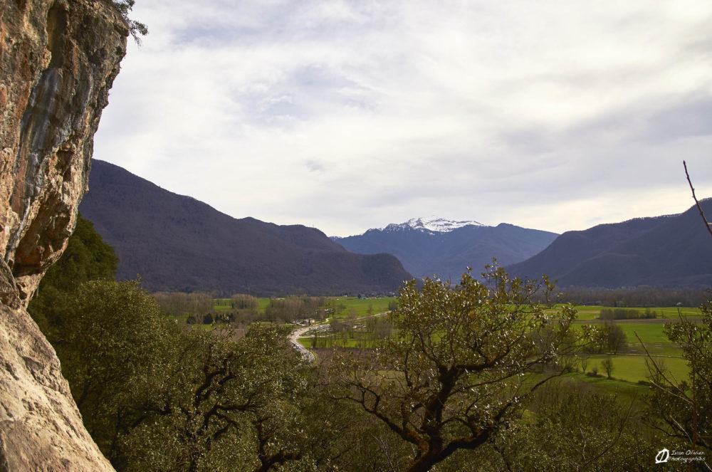 Vue sur les Hautes-Pyrénées, Février 2021