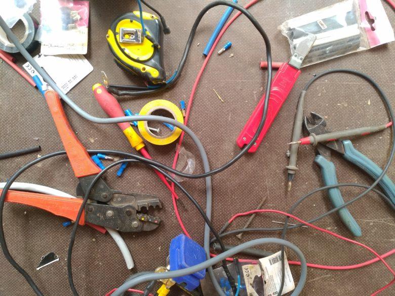 Les outils de l'électricien!