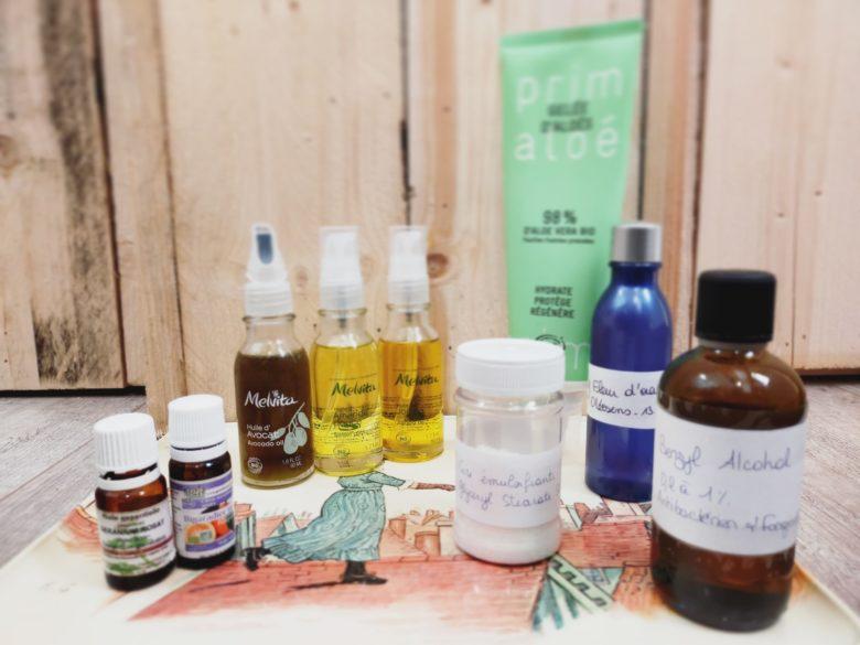 GC - recette creme visage douceur du sud - peau seche atopique